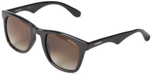 Carrera 6000/L, Gafas de Sol Rectangulares Unisex, Negro, 50 mm