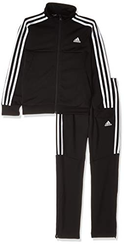adidas Jungen YB TS TIRO Tracksuit, schwarz (black/White), Gr. 128