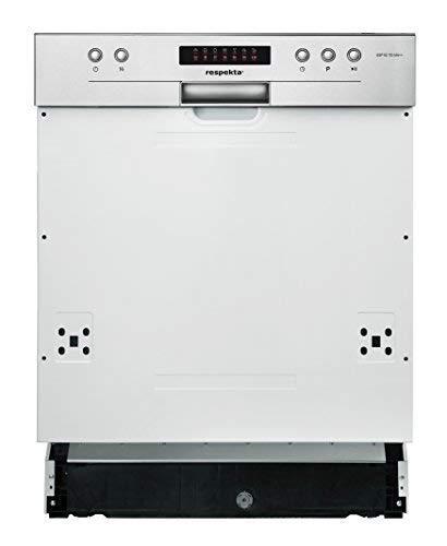 Respekta Lave-vaisselle 60 cm Teilintegriert avec écran LED Eekl a Incl. Aquastop