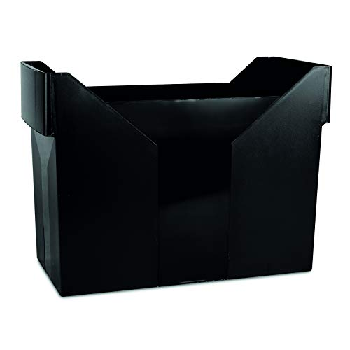 Office Products 7421001–01MINI archiwum Danubio, plastikowe, czarne Danubio carpetas colgantes Box/colgantes, plástico, Negro