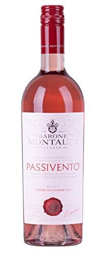 6x 0,75l - 2018er - Barone Montalto - Passivento - Rosato - Terre Siciliane I.G.T. - Sizilien - Italien - Rosé-Wein halbtrocken