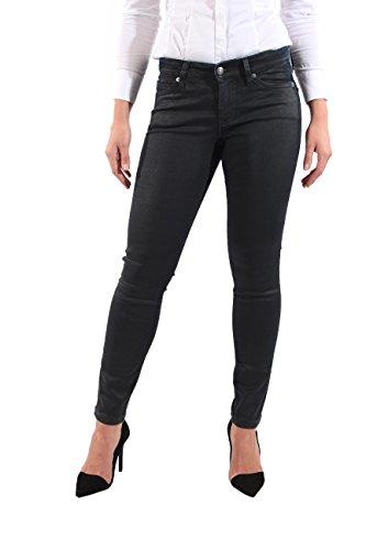 MAC Jeans Skinny Clean Leder Optik Black Damen 0380 D039 599670 W40 L30