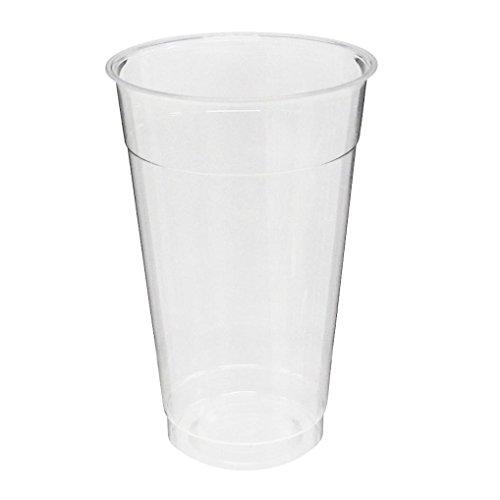 旭化成パックス 透明プラカップ 25個入り 14オンス(満杯容量420ML 推奨容量330ML)CIP-411D 口径8.8cm