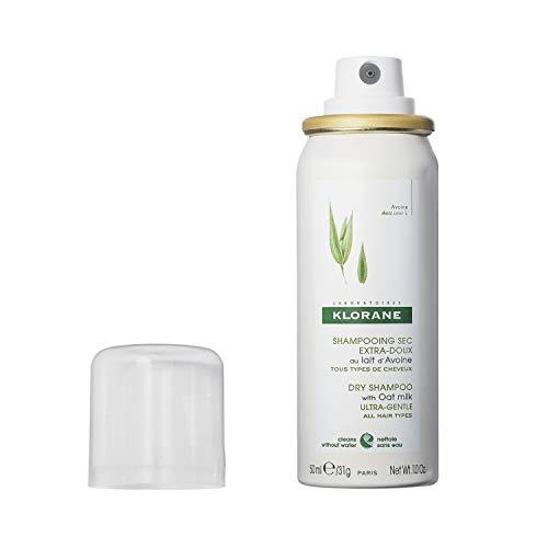 Klorane, shampoo secco spray, delicato, al latte d'avena, 50ml (etichetta in lingua italiana non garantita)