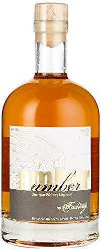 BIRKENHOF Brennerei   Amber - German Whisky Liqueur   (1 x 0,5l ) - 30 % vol.