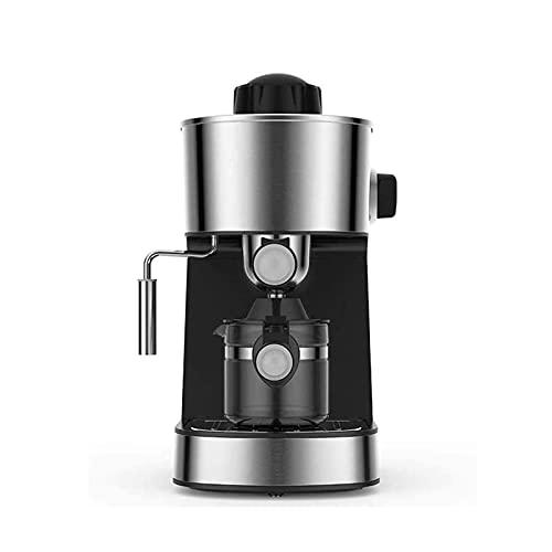 SFLRW Cafetera de Goteo, máquina de cafetera con Filtro Reutilizable y Jarra de Vidrio COFEVEMADORES COMPACTOS para HOGAR, Viaje Y Oficina, Decoración de Acero Inoxidable, Negro