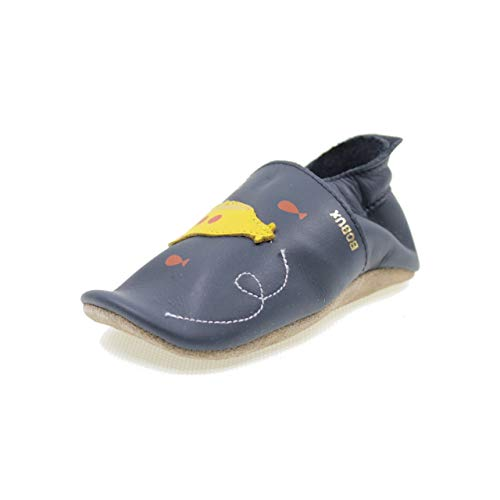 Bobux Submarine Navy Leather Medium/9-15 Months