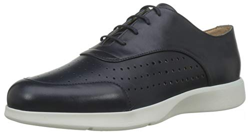 Geox D Arjola C, Zapatos Cordones Oxford Mujer, Navy