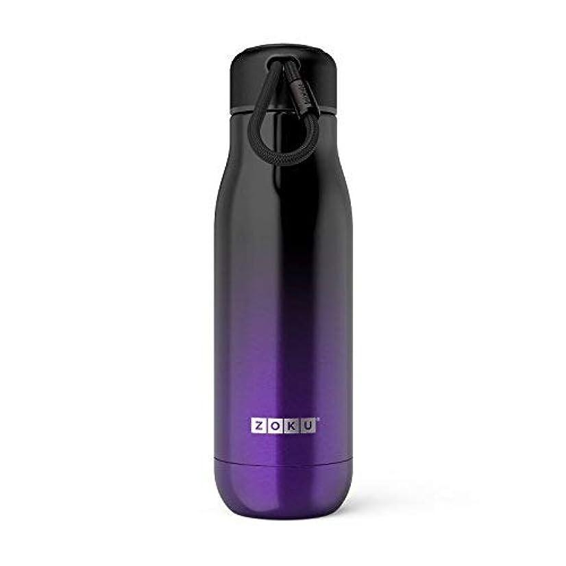 専ら鳩蚊Zoku Vacuum Insulated Stainless Steel 18oz Water Bottle Purple Ombre [並行輸入品]
