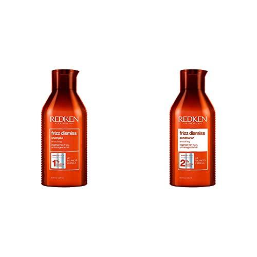 Redken Frizz Dismiss Shampoo 500 Ml + Balsamo 500Ml   Routine Professionale, Combatte il...