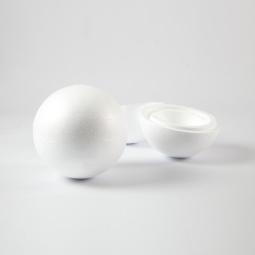 Styropor Hollow Spheres Styrofoam Polystyrene Balls (20cm) by Smithers Oasis