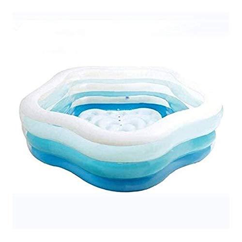 DYYD Piscina Inflable de la Familia Grande estupendo del Océano Ball Pool Espesado del hogar Adulto Grande Piscina for niños