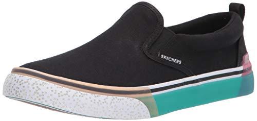 Skechers Women's Street Sparked-Cool as Ice Sneaker, BLK
