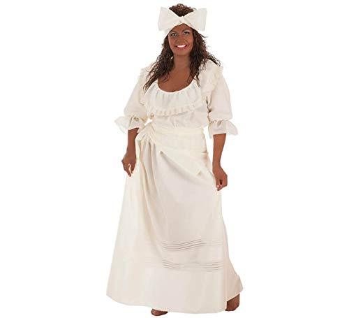 Creaciones Llopis Disfraz de Cubana Beige para Mujer