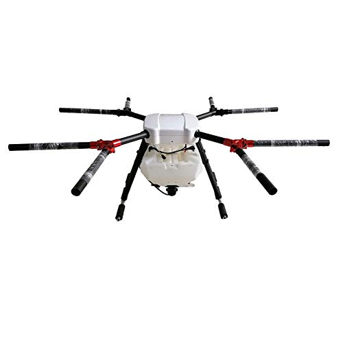 Parts & Accessories 8 Axis 10KG 10L Agricultural Spraying unmanned RC Drone Empty Carbon Fiber Frame Mist Agriculture Machine UAV Frame - (Color: 8 axis 10L Frame)