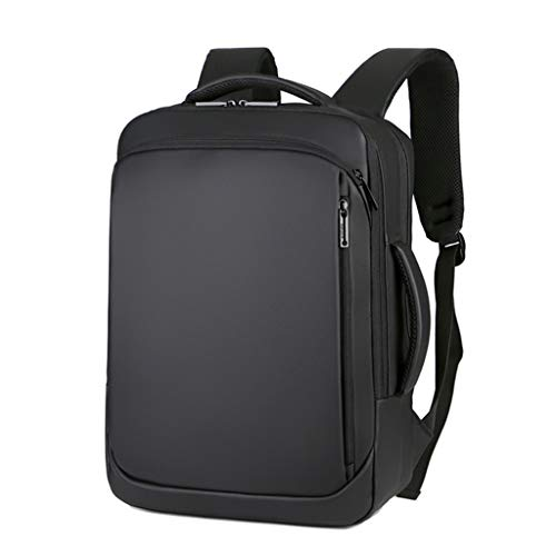 Laptop Backpack, Travel-Friendly Laptop Backpack Water Resistant Laptop Rucksack with USB Charging Business Laptop Backpack for Men College Backpack Travel