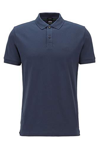 BOSS Herren Piro Poloshirt, Blau (Navy 410), XXL EU