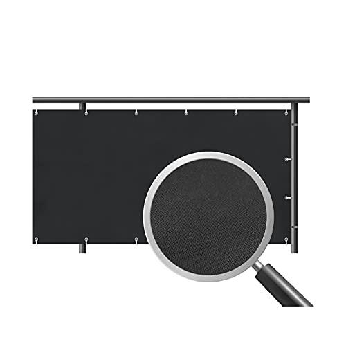 FDSH Garden Shade Net Anti-UV HDPE Pantalla de privacidad Netting Garden Screening Cercamiento 90% Neto de la Sombra. B-0.9m*6m
