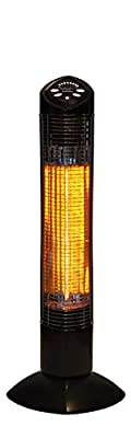 Westinghouse WES31-1200 Infrared Electric Outdoor Heater, Black
