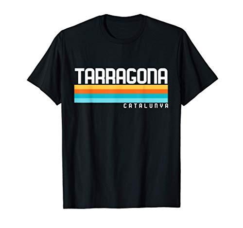 Diseño Vintage ochentas Ciudad Tarragona Catalunya Camiseta