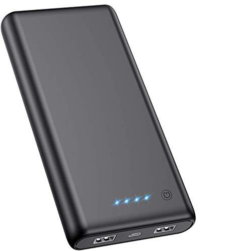 Feob Powerbank - Neuester Intelligent Steuerung-IC Externer Akku 24800mAh Ultra-Hohe Kapazität Power Bank Power Pack Schnellladung Ladegerät Akku Pack für Smartphones, Tablets & mehr