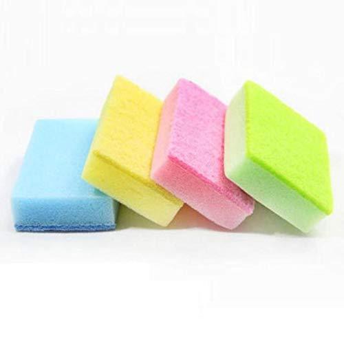 Esponjas de Limpieza,10PCS Esponjas de Limpieza Juego de Cepillo de Esponja Universal Herramientas de Limpieza de Cocina Ayudante Esponjas de Limpieza Multiusos para Baños y Cocinas