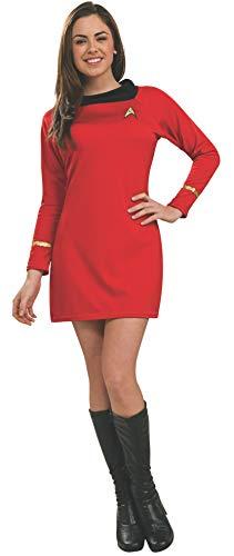 Rubie's Officiële Star Trek Deluxe Uhura-jurk voor dames