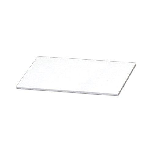 アイリスオーヤマ カラー化粧棚板 スリム LBC-615S ホワイト