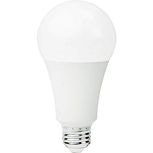 Goodlite G-20205 A23 LED Light Bulb, 27W (225W Equivalent) 4000 Lm, Dimmable 240° Beam Angle, E26 Base, Warm White 3000k