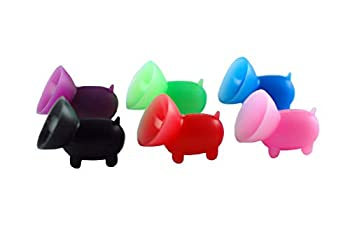 6 Pack - The Original Piggy Cell Phone Stand/Phone Grip/Cell Phone Accessory