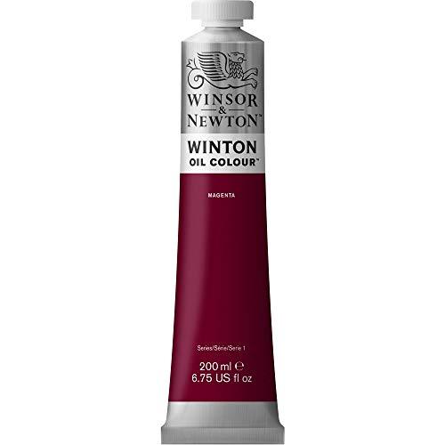 Winsor & Newton Winton - Tubo De Pintura Al Óleo, 200 ml, Magenta