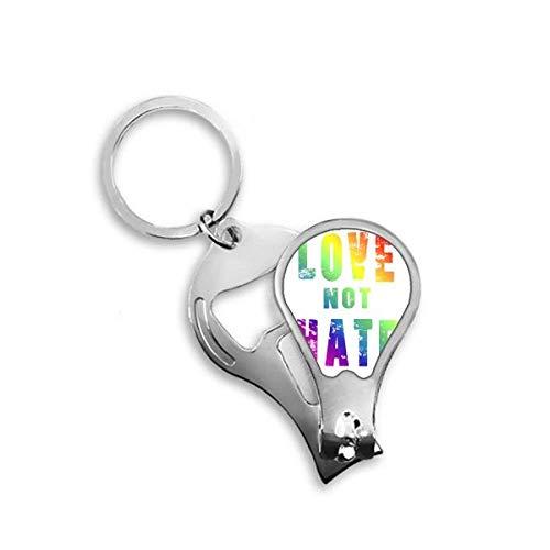 DIYthinker regenboog gay lesbische vlag LGBT teennagel knipper