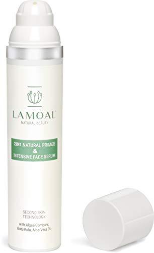 Porenverfeinerndes Primer Serum von LAMOAL - ohne Silikon, vegan, mit Parakresse, 1er Pack (1 x 100 ml)