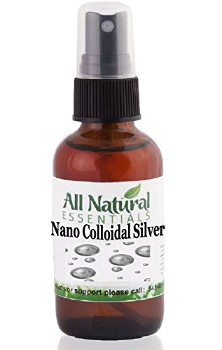 Colloidal Silver Solution 2oz Bottle 240ppm Nano colloidal Silver Immune Booster Nano Silver Best colloidal Silver Kosher Certified All Natural Liquid Silver Immune Support