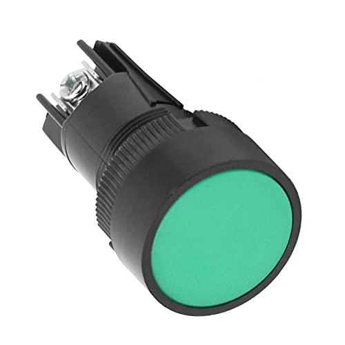 Jeanoko Switchblade - Interruptor automático para tornillo con arandela DIN, color verde XB2-EH135, rojo XB2-EH145, resistencia XB2-EH135 y (verde XB2-EH135)