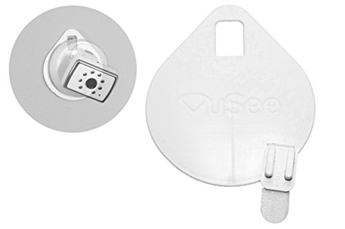 VuSee Flat | Universal Baby Monitor Shelf | Compatible with Most Baby Monitors | Safe Cord Management | Easy Installation