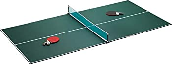 Viper by GLD Products 3-in-1 Portable Table Tennis Top Turn Any Surface into a Game Table for Quick Paced Fun in Any Location Green one Size