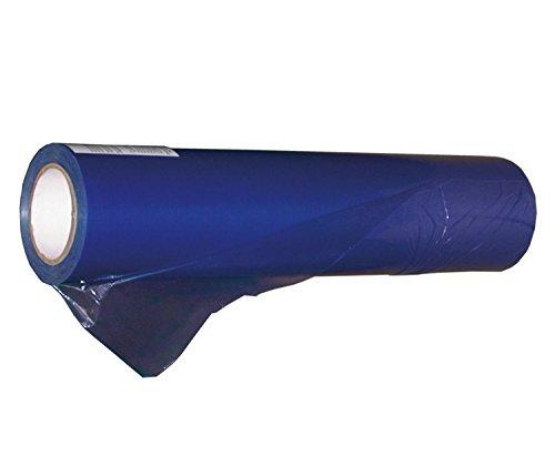 1 Rolle Glasschutzfolie, Selbstklebend, Farben transparent, blau, Abmessungen (50 cm x 100 m, Blau) 517500X5-1rolle