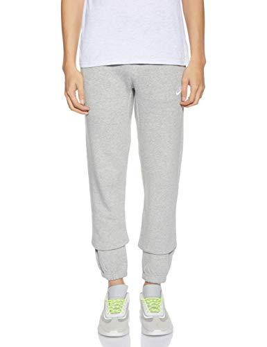 Nike CF FLC Club, Pantalones Deportivos para Hombre, Gris (Grey Heather/White), Small