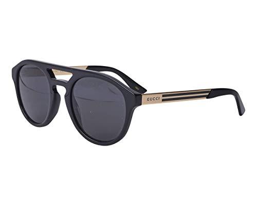 Gucci GG0689S BLACK/GREY 53/23/145 Herren Sonnenbrillen