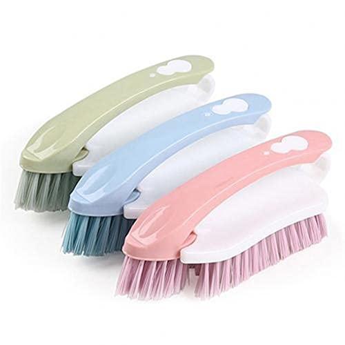 1 PCS Multi-fonctionnel outils de baskets chaussures de baskets nettoyage chaussures de démarrage Brosses Nettoyant 2 en 1 Home Plastique Nettoyage Brosse Couleur aléatoire (Color : Random Color)
