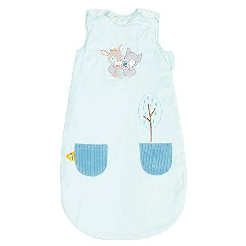 Nattou Ganzjahres-Schlafsack Tim und Tiloo, TOG 1.9, 90 cm, Tim und Tiloo, Blau