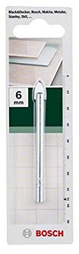 Bosch Punta per Vetro e Piastrelle 6 x 76