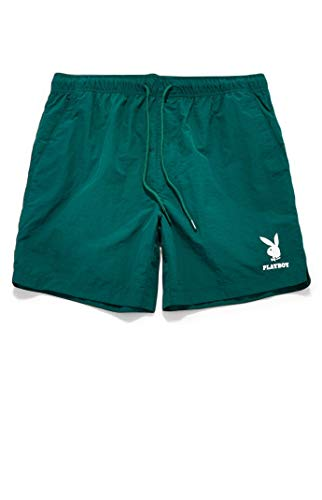 PacSun Playboy Men's Bunny Nylon Shorts - Exclusive Playboy Casual...