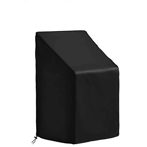 Housse de protection étanche large et longue pour chaise à dossier haut et mobilier d'extérieur 210D Oxford Cloth