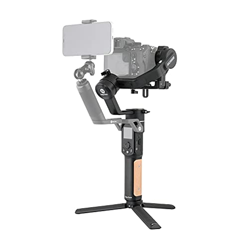 FeiyuTech AK2000C [Official] Camera Stabilizer, 3 Axis Handheld Gimbal Stabilizer for DSLR Camera Mirrorless, 4.85lbs Payload Touch Screen, for Sony Canon Panasonic Nikon Fujifilm,Wi-Fi/Cable Control