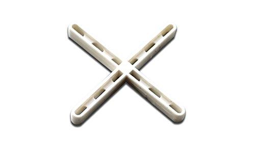 Rubi 2953 crucetas para Juntas, Blanco, 3 mm, Set de 200 Piezas