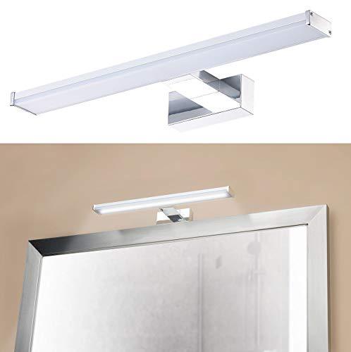 Sichler Beauty Spiegellampe: LED-Spiegelleuchte zur Wandmontage, 504 Lumen, 4000 K, 8 Watt, IP44 (Spiegel-Schrankleuchte)