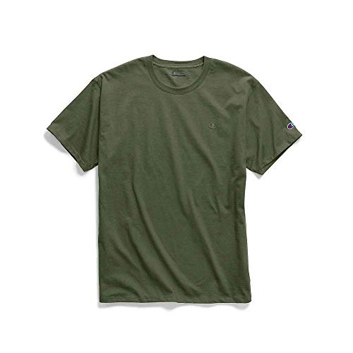 Champion Men's Classic Jersey TEE, Cargo Olive, 2X Large