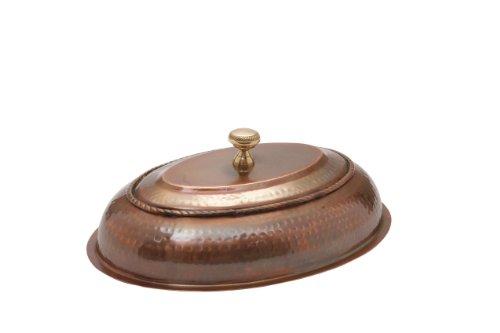 Old Dutch Lid, 6 Qt, Antique Copper